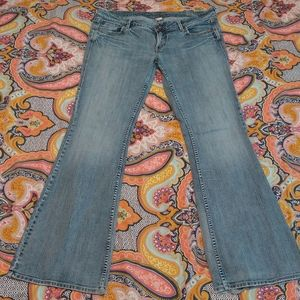 Silver Jeans Eden flare 36/35 long tall low/mid